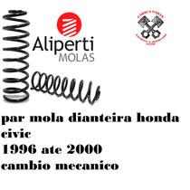 Par Mola Dianteira Honda Civic 1.6 96 97 98 99 00 Mecanico