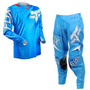 Calça + Camisa Fox Mx 360 Flight 15 Blue 38 (46 Bra)conjunto