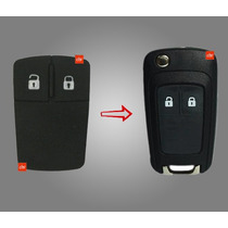 Capa Chave Canivete Chevrolet Onix,cruze,spin,sonic Key Pad