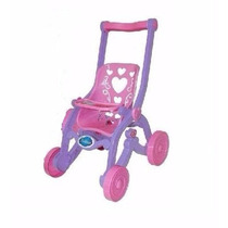 Carrinho De Boneca Das Princesas - Brinquemix