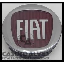 Calotinha Central Miolo Para Roda De Liga Leve Fiat