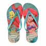 Sandália Havaianas Pequena Sereia Kids Slim Princess Disney