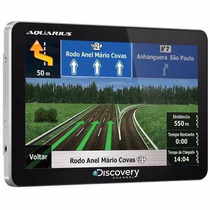 Navegador Gps Discovery Channel Slim Tela 5.0