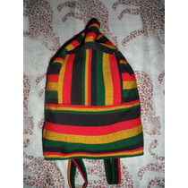 Mochila Do Reggae Peruana Com Estampa Do Bob /e Sem Estampa