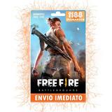 Free Fire 1080 Diamantes + 10% Bônus Recarga P/ Conta