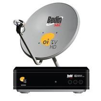 Kit Receptor Oi Tv Livre Bedin +antena Ku Cabo+lnb Completo