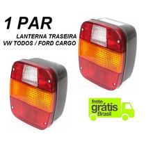 Par Lanterna Traseira Caminhão Vw 8140 15180 Ford Cargo
