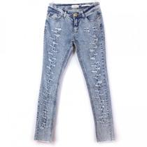 Calça Jeans Acostamento Feminina Destroyed 67213052