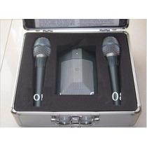 Kit Microfone Shure Beta Dmk3 Com 2 Beta 87 E 1 Beta 91