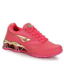 Tênis Training Feminino Bouts Machine Gold Series - Pink