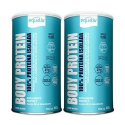 Kit Equaliv Body Protein 2 X 300g