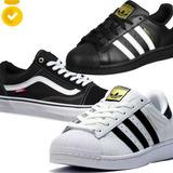 2 Tênis adidas Originals Superstar Black Friday + Brinde