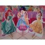15 Princesas Disney Chão E Mesa Aniversário Festa Lindos Mdf