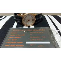 Relógio Mido Baroncelli Automático Com 12 Diamantes Novo