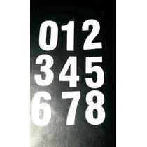 Molde Chapa De Aço Números Corte Feltro - 12,5 Cm - 9 Peças