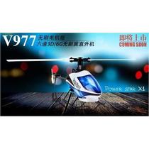 V977 - Helicóptero 6 Canais Brushless