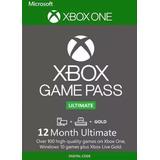 Game Pass Ultimate 12 Meses Código 25 Dígitos - Xbox One