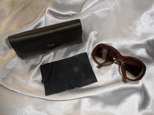 Elegante,raro Óculos Sol Cartier Fem Happy Birthday,anos2000 67439d2f39