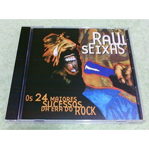 Cd Raul Seixas - Os 24 Maiores Sucessos Da Era Do Rock *