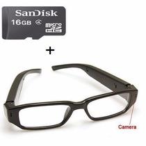 Óculos Espião Com Camera Espiã +16gb Classe 4