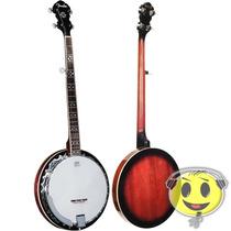 Banjo Fender 5 Cordas Acústico Fb54 Top Oferta Kadu Som