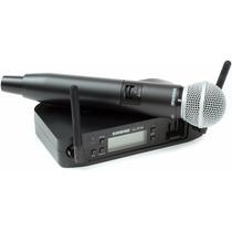 Microfone Shure Glxd24/sm58 Original Sem Juros