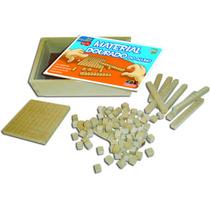 Material Dourado Aluno C/ 111 Peças Brinquedo Educativo