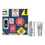 Kit 212 Men 100ml + Gel Pós Barba 100ml | Original + Amostra