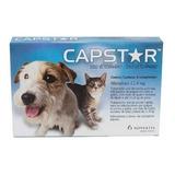 Capstar 11,4 Mg Para Cães E Gatos Cx 6 Comprimidos
