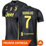 Camisa Juventus Oficial adidas Cinza Nº7 Ronaldo + Brinde