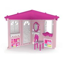 Novo Brinquedo Playground Smart House Barbie Rosa Xalingo