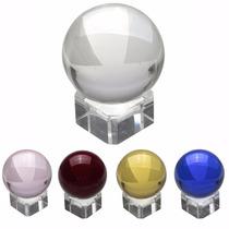 Bola De Cristal Legítimo Base Transparente Pronta Entrega