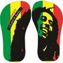 Chinelo Preto Estampa: Bob Marley 02