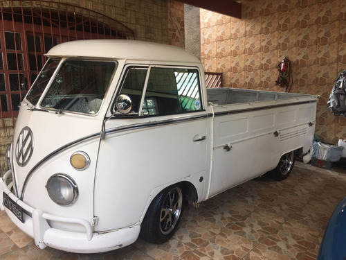 KOMBI T1 PICK UP CABRITA SINGLE CAB BUS SPLIT WINDOW 74 LUXO