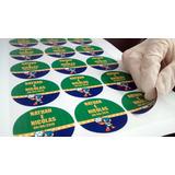 Rótulos Adesivos Personalizados - Promoção * Preço Por Folha