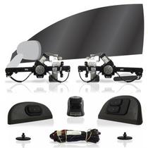 Kit Vidro Elétrico Dianteiro Sensorizado Gol G4 4 Portas