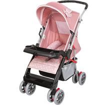 Carrinho De Bebe Thor Rosa Coroa Tutti Baby