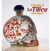 Tequila Caveira La Tilica Branco 750 Ml 100% Agave Original