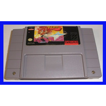 Zero The Kamikaze Squirrel Snes Super Nintendo Original Raro
