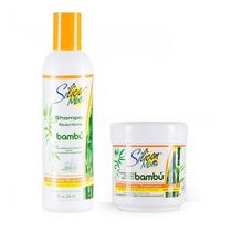 Kit Shampoo E Mascara Silicon Mix Bambu 450gr - Menor Preço