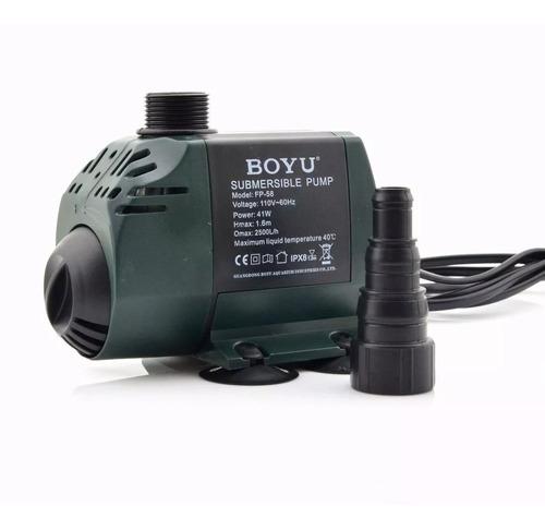 Bomba Submersa Boyu Fp58 Com 2500 Lh De Vazão