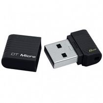Pen Drive 8gb Datatraveler Micro Kingston Usb 2.0 Preto