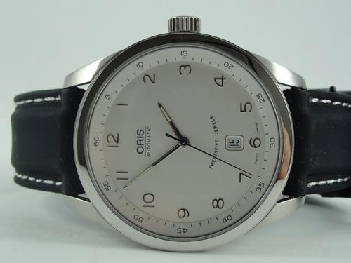 52678a6d668 Relógio Oris - Classic X X L Date - Automático - Original - R  3200 ...
