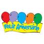 Faixa Feliz Aniversário Grande