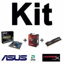 Kit Gamer Asus M5a78l-m/usb3 + Amd Fx-6300 + 8gb Hyperx Top