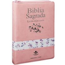 Bíblia Sagrada Letra Gigante Luxo Almeida Revista Corrigida