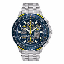 Relógio Masculino Citizen Eco - Drive Blue Angels Jy0040-59l