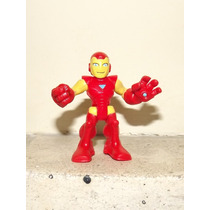 Marvel Super Hero Squad - Iron Man - Homem De Ferro