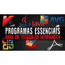 Kit 9 Dvds P/ Formatação Profissional, Sistemas E Programas.