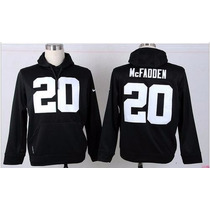 Casaco Raiders Nfl Nike Oficial - Pronta Entrega - Tam. 3g